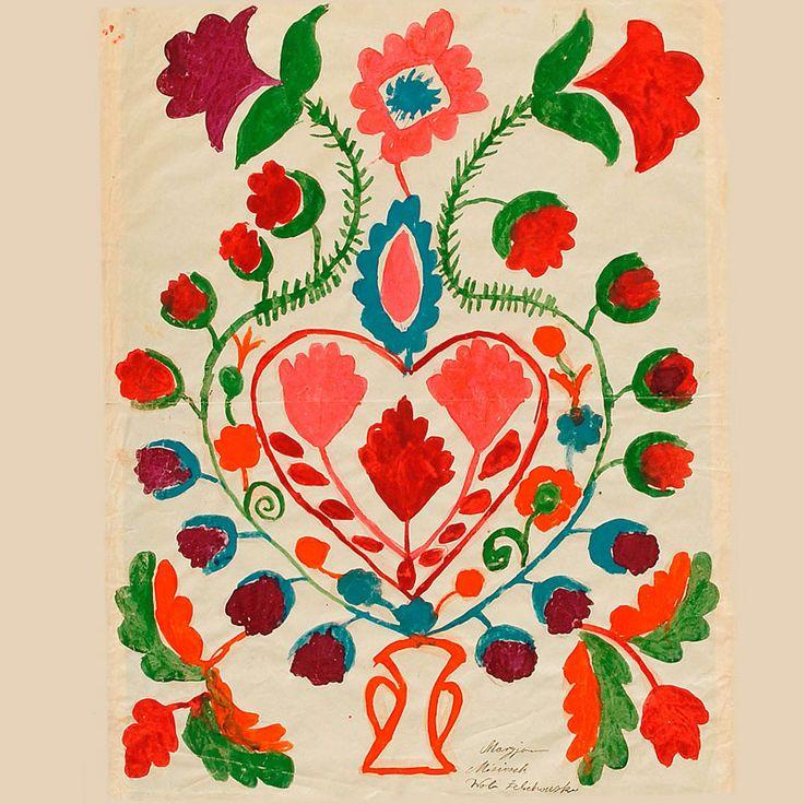 "Malowanka - Etnodizajn ""Wzornik"" / ENG: www.etnodizajn.pl... #etno #folk #inspirations"