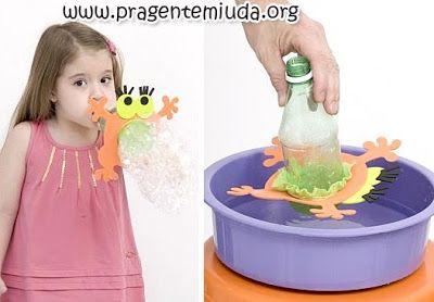 brinquedos reciclado para dia das crianças