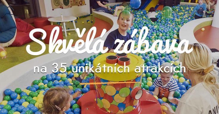 BRuNO family park je centrum zábavy a aktivního trávení volného času pro děti do 15 let v Brně. Děti si mohou hrát na 35 unikátních atrakcích zatímco jejich rodiče odpočívají.
