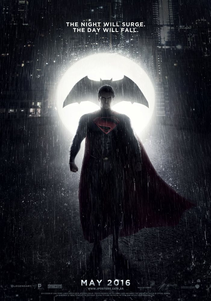 Poster provisional de BATMAN VS SUPERMAN (2016) by jphomeentertainment