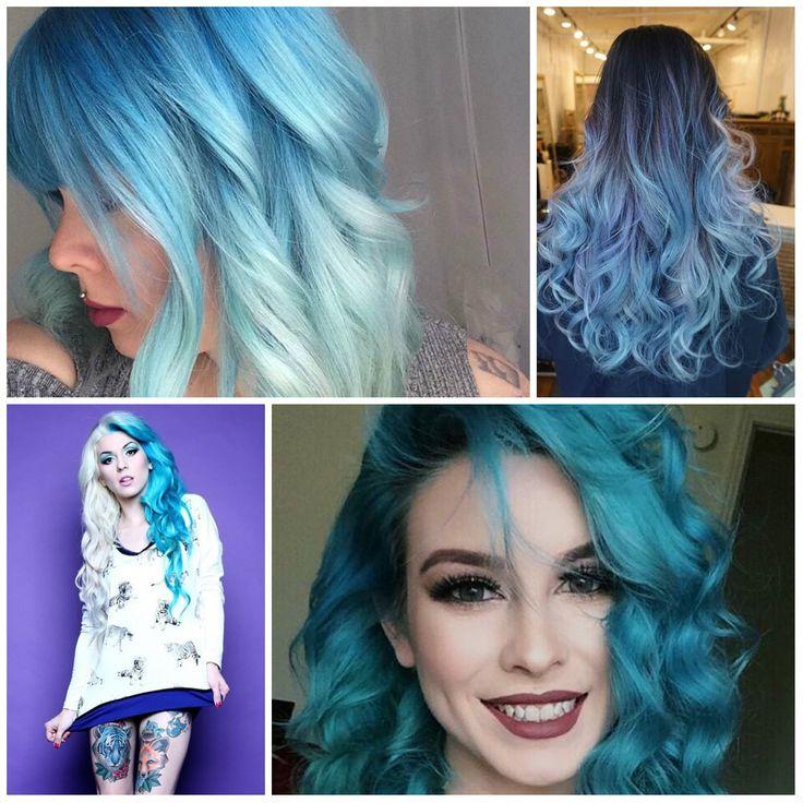 1000 Ideas About Light Blue Hair On Pinterest Pastel