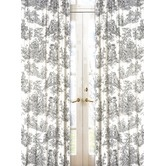 Found it at Wayfair - Black French Toile Set of 2 Window Panels