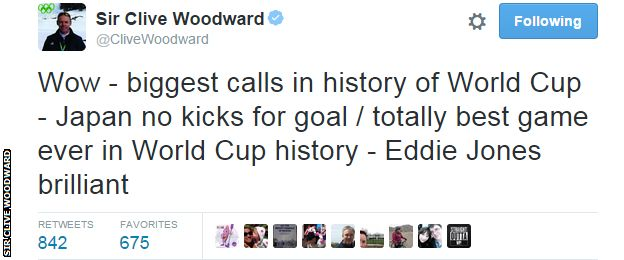 Sir Clive Woodward