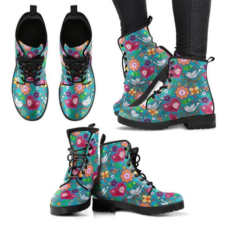 Mandala Lover Fan Spiritual Yoga Letather Women Boots Gift