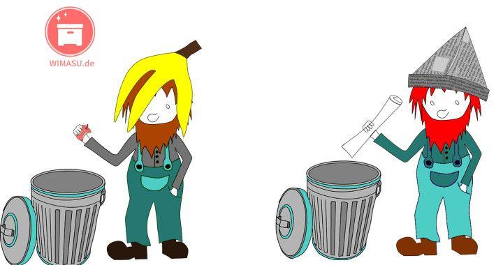 Müllzwerge farb