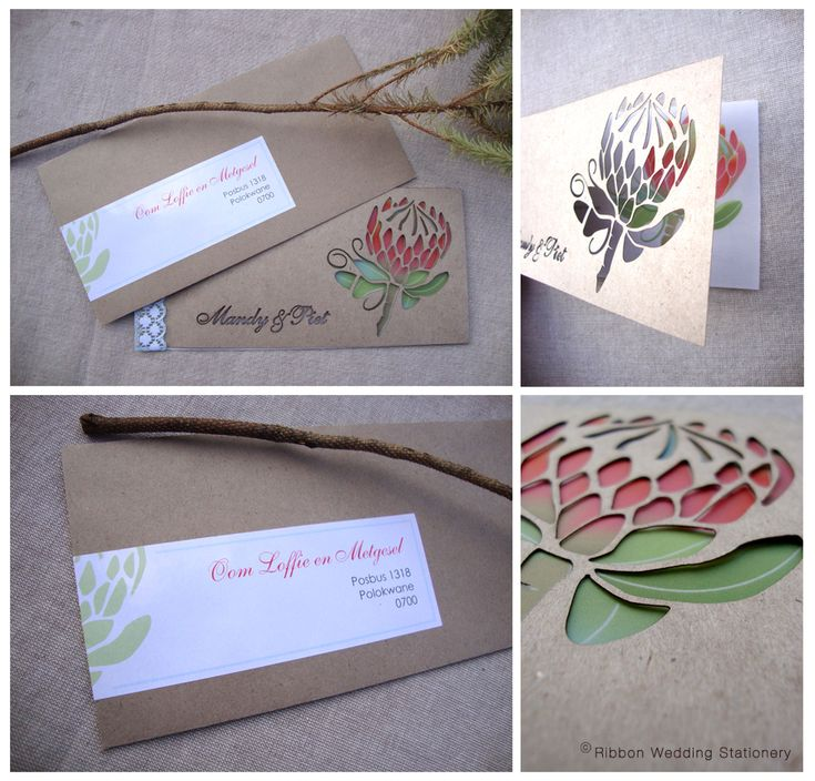 Protea invitation
