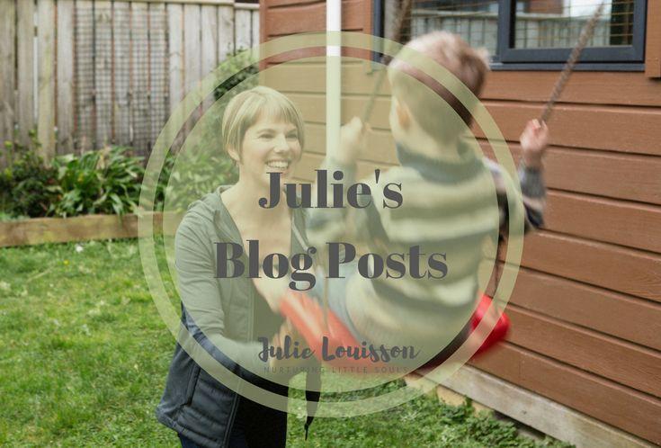 Just posts from my practical spiritual parenting blog, Nurturing Little Souls - Julie #julielouisson #spiritualparenting #parenting