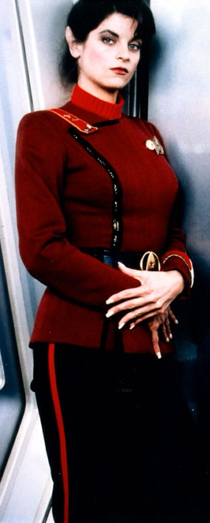 Loved Kirstie Alley in WoK.  Too bad she wanted too much money for Star Trek III.