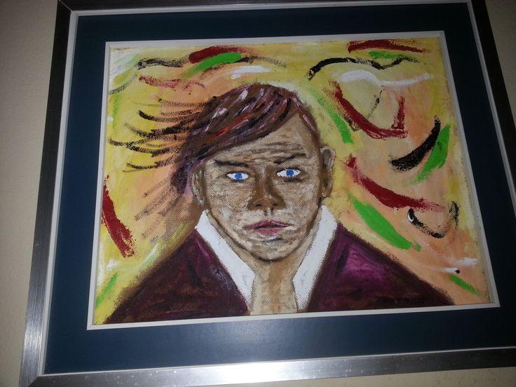 """Dipinto ad olio """"LA PAZZIA"""" di PaintForYouArte su Etsy"""