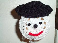 SNOWMAN DOOR KNOB COVER: Covers Galore, Crochet Door Knob Cover, Crochet Doorknob Cover, Door Knobs, Door Knob Covers, Snowman Door, Doorknobs Covers