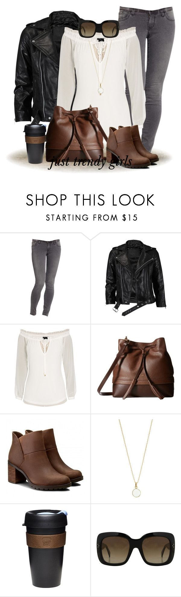"""""""fall fashion"""" by justtrendygirls ❤ liked on Polyvore featuring Old Navy, VIPARO, City Chic, Lodis, Clarks, Accessorize, KeepCup and CÉLINE"""