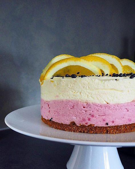 Tässä raikkaassa kakussa maistuu kesä! Turhan makeat kakut eivät ole koskaan olleet..