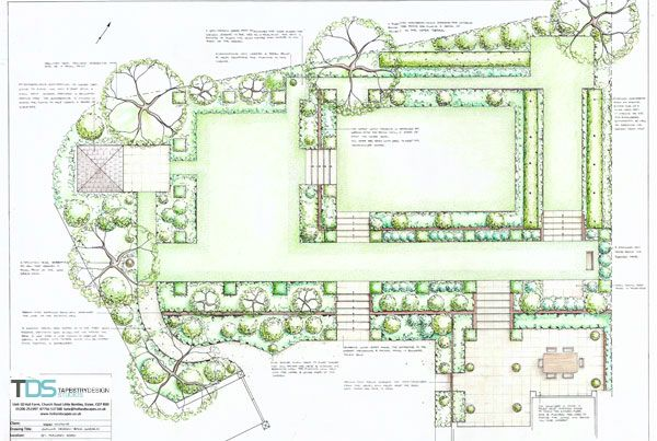 91 best images about drawings and garden plans on for Georgian landscape design