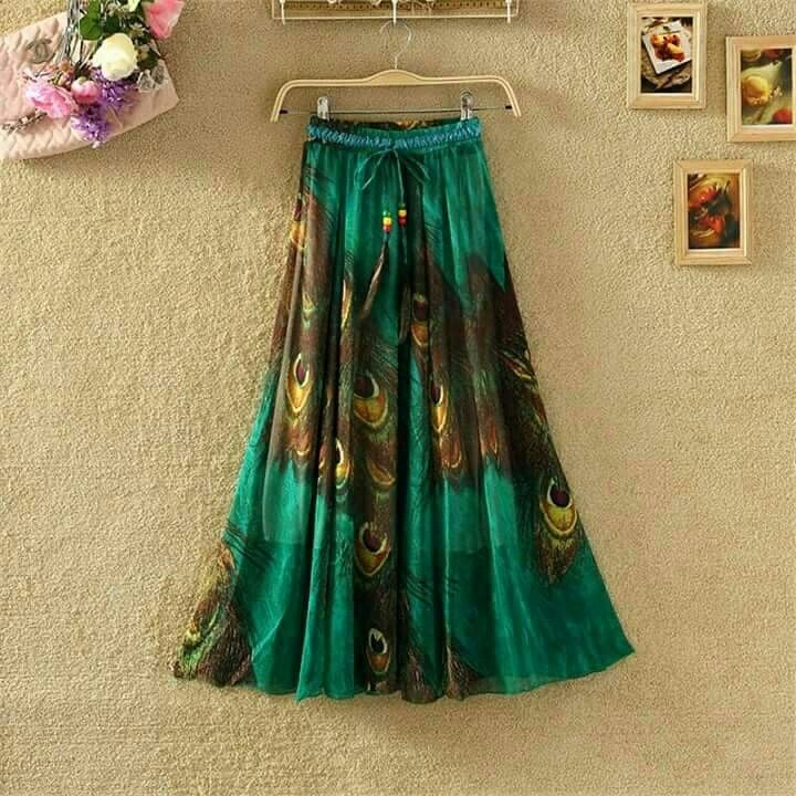 Shiffon skirt To order what's app on 8879716925