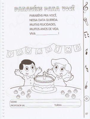ATIVIDADES COM MUSICAS PARA CANTAR E APRENDER - - VilaClub
