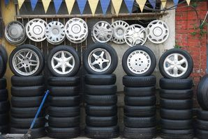 Modify your tires with rims, on a budget.