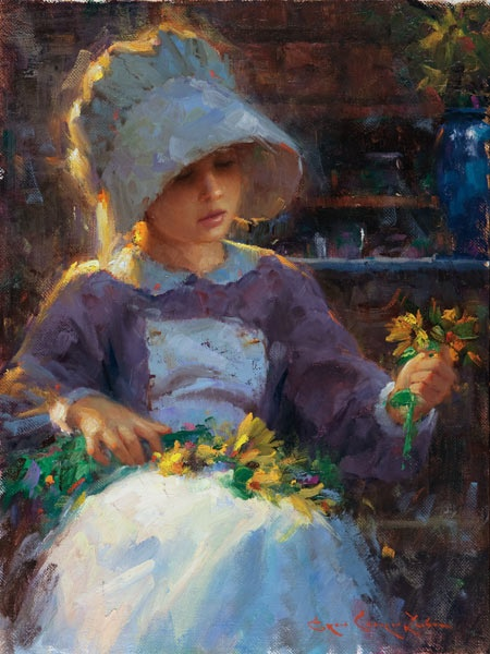 """""""From the Fields"""" -- by Bryce Cameron Liston (b.1965, American)"""