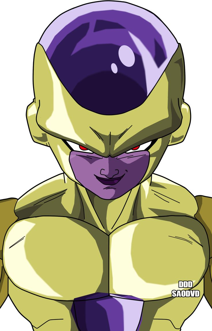 Golden Freezer- Gold Frieza by SaoDVD on @DeviantArt