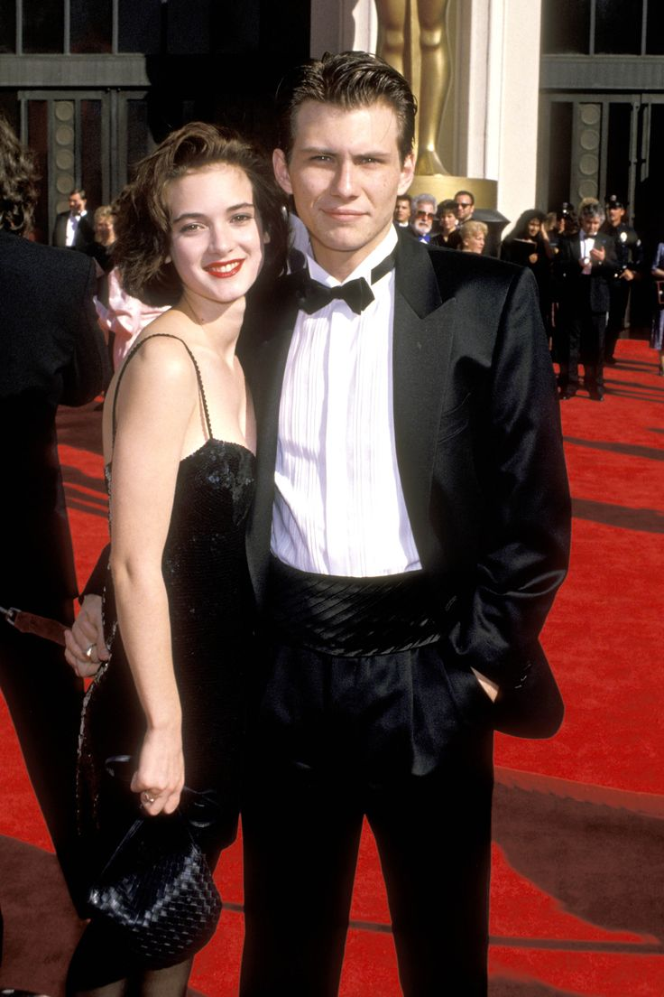 Winona Ryder and Christian Slater   - HarpersBAZAAR.com