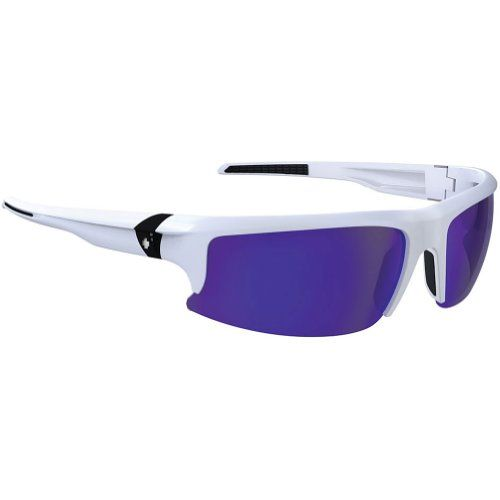 Spy Rivet Sunglasses - Spy Optic Performance Series Lifestyle Eyewear - Matte White