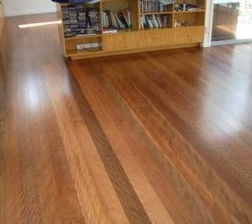 Brushbox flooring Synteko classic semi gloss finish