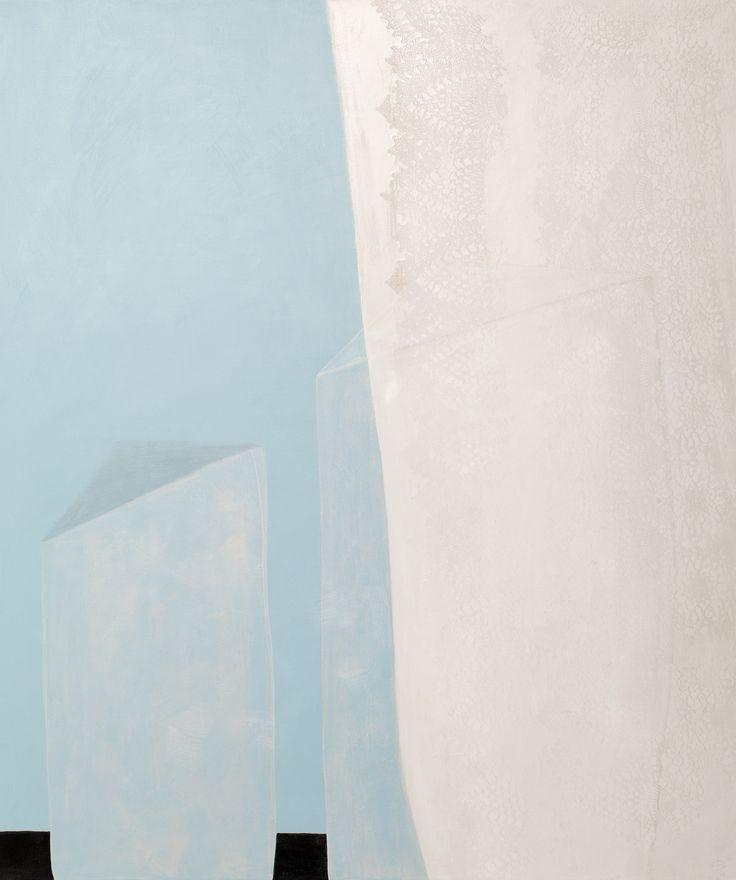 'Doorzichtig duo', 100 x 120 cm, acryl op linnen, 850,00 euro