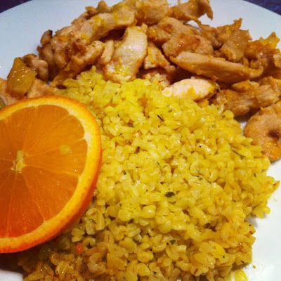 Danadi's Kitchen: Kairói citrusos csirke
