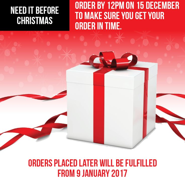 Oh what fun it is to buy at our online haircare store! Get your Hairhouse Warehouse Christmas orders in before 12pm on 15 December. Orders placed later will be fulfilled after 09 January 2017. #ordernow #christmasiscoming #xmasshopping