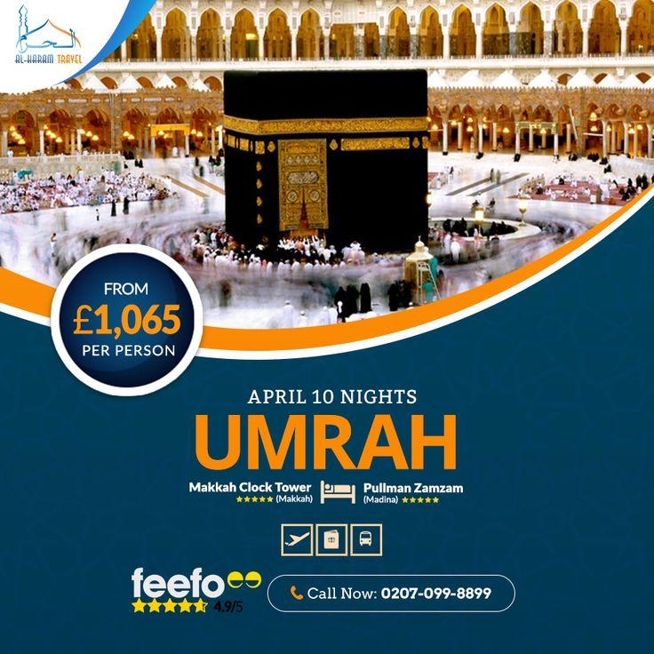 Umrah Package April, 2021 in 2020   Travel agent, Makkah ...