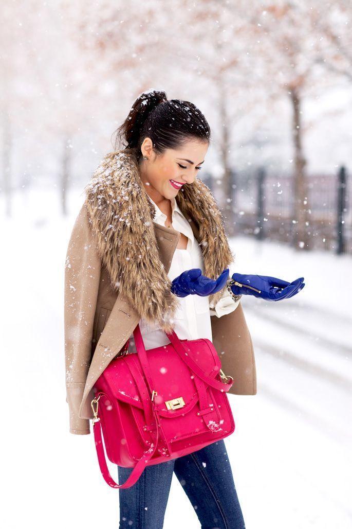 Пять способов добавить всплеск цвета в зимний гардероб - Я Покупаю
