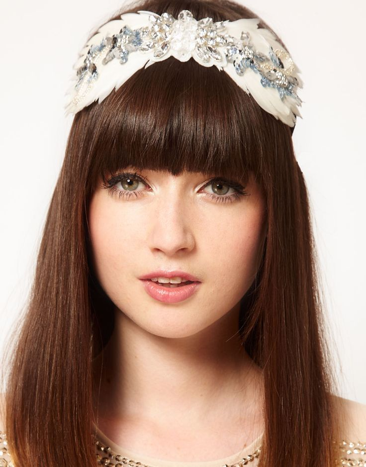 Twenties Feather Hair Band - Raises £0.23 for charity at no extra cost when you shop with Give as you Live.