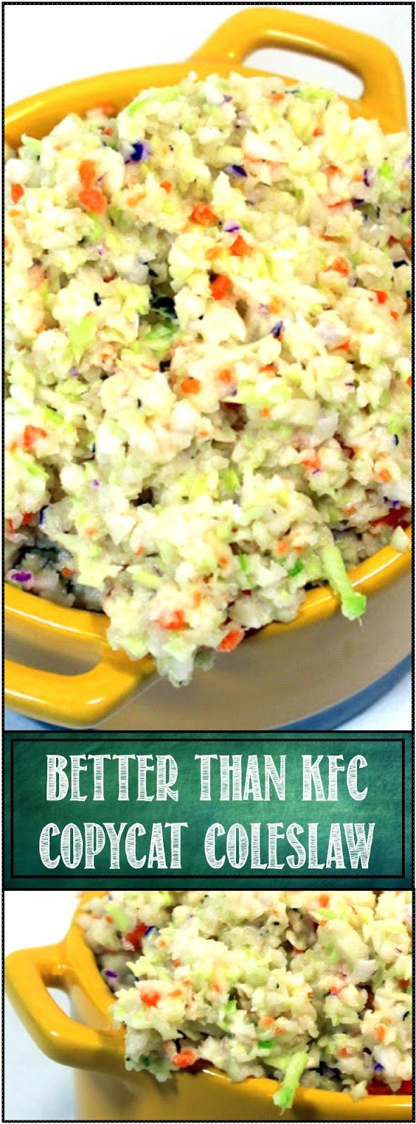 how to make kentucky fried chicken cole slaw