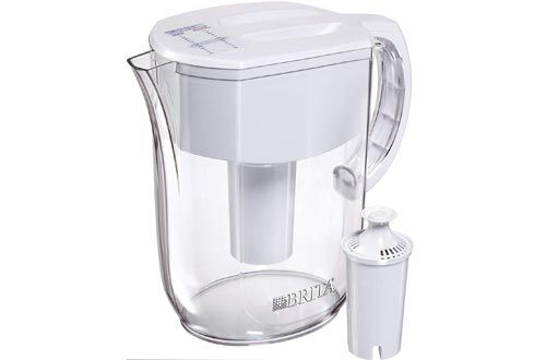 5 Brita Everyday Pitcher With 1 Standard Filter In 2020 Brita Water Filter Best Water Filter Brita Pitcher