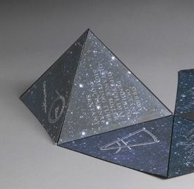 Pyramid Power: The Hinged Triangle Book via San Francisco Center for the Book