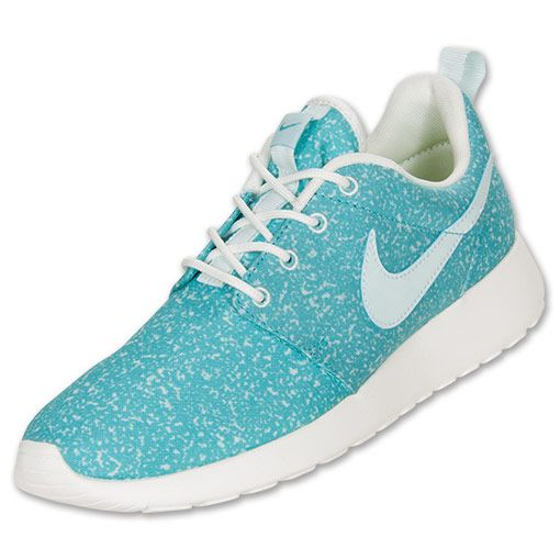 Women's Nike Roshe Run Casual Shoes | FinishLine.com | Fiberglass/Sail/ Turquoise | Sneakersss | Pinterest | Nike roshe, Roshe and Casual shoes