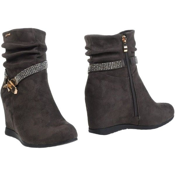 Boot wedges, Bootie boots and Heel boots on Pinterest