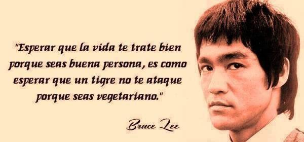 Bruce Lee .
