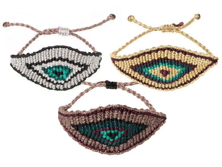 Tatiana Choremi | All Seeing Eye Bracelet | AHAlife