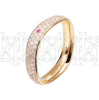 Рыжее золото, бриллианты, рубин