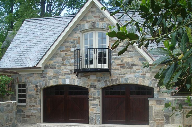 68 best images about detached garage on pinterest house for Stone garage designs
