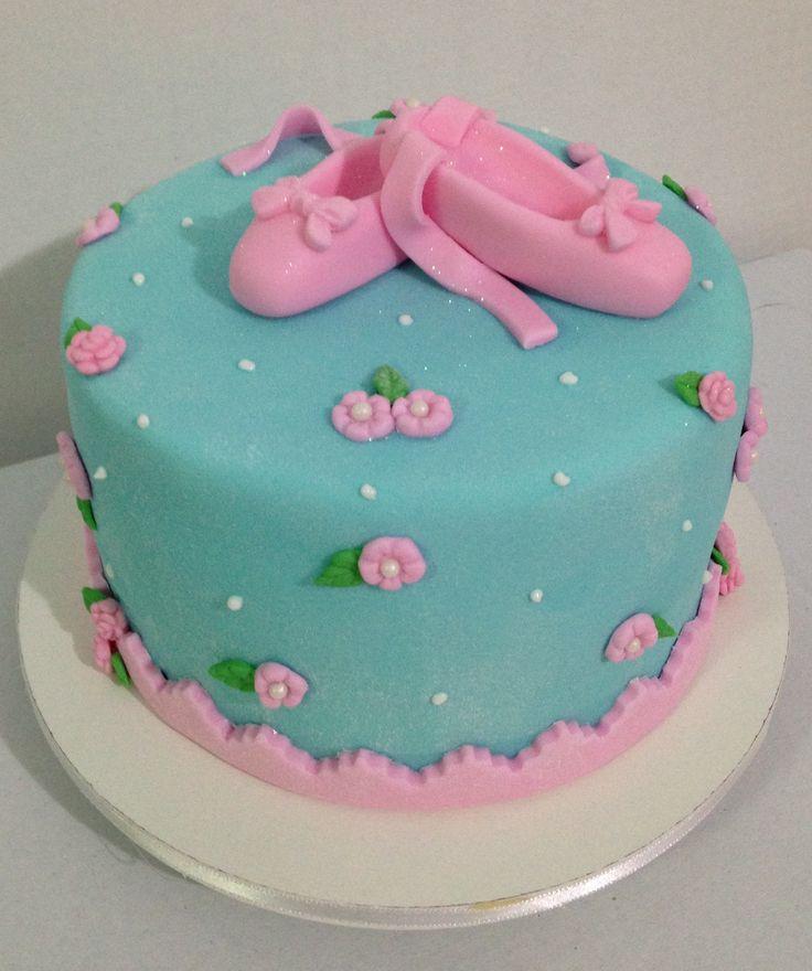 Bolo bailarina  #cake #bolo #fondant #bailarina #ballet