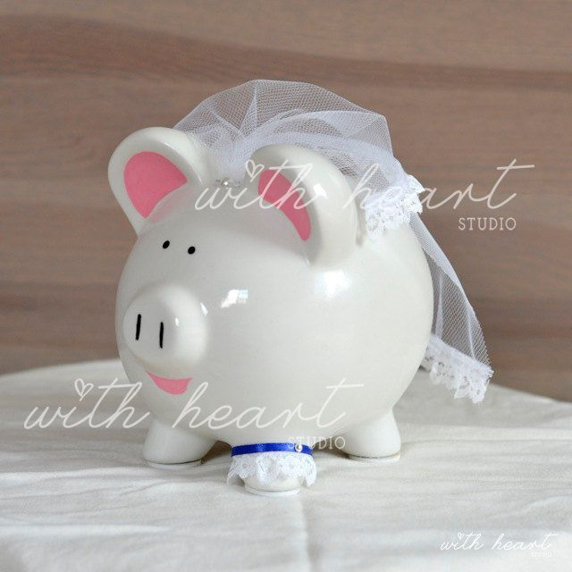 Bride Wedding Piggy Bank