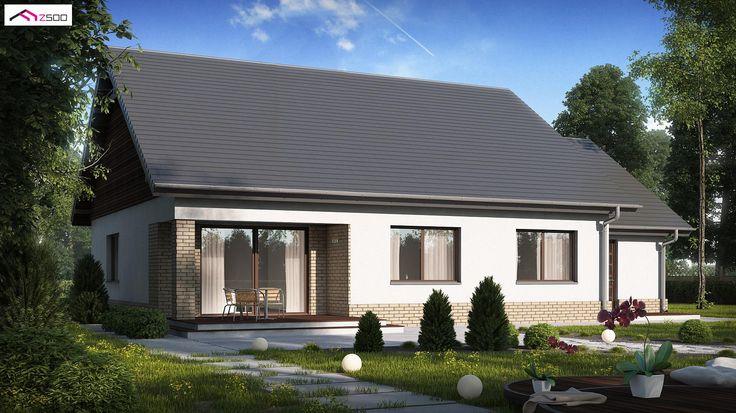 Z131 NF40 to wyjątkowy dom z kategorii projekty domów energooszczędnych