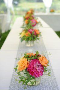 Gorgeous Summer Wedding Centerpieces