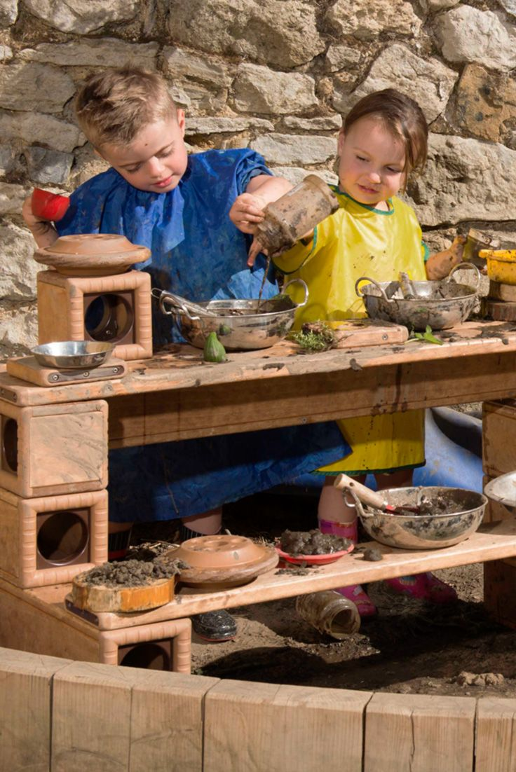 """""""It's okay for children to get dirty...it's not just okay, it's important,"""" writes Michelle Rupiper. Read article: http://www.communityplaythings.co.uk/learning-library/articles/mud-marvellous-mud"""