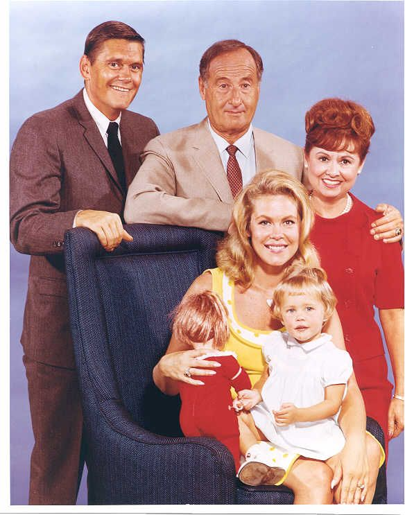 Bewitched is an American situation comedy about a witch who marries a mortal man.originally broadcast on ABC from 1964 to 1972  stars Elizabeth Montgomery, Dick York (1964–1969), Dick Sargent (1969–1972), Agnes Moorehead, and David White