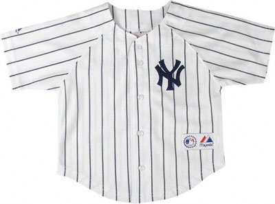 ... An authentic NY Yankee InfantToddler Jersey made from Majestic (Official  Apparel Maker for Major League ... 3c095ad0f