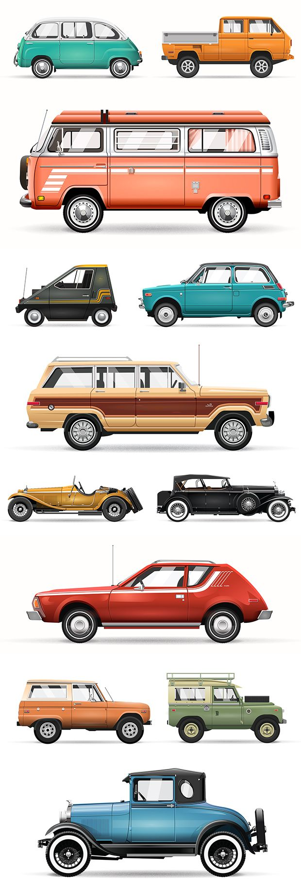 Car illustrations by Christopher Hebert