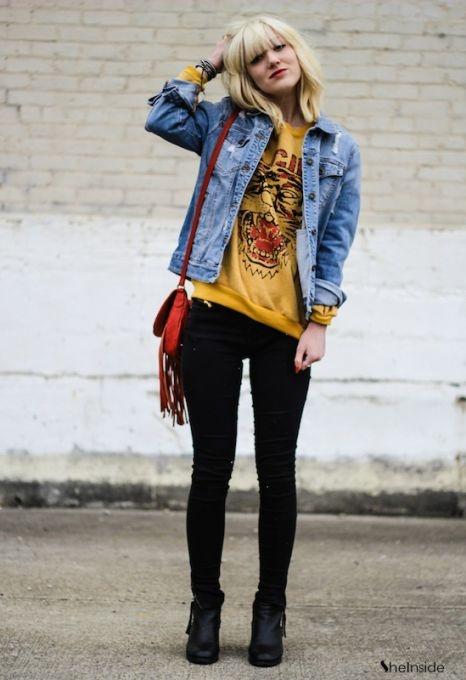 Denim Days - Womens Fashion Clothing at Sheinside.com #sheinside