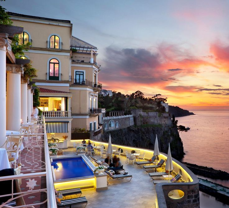 Bellevue Syrene in Sorrento, Italy, the #3 hotel in the world